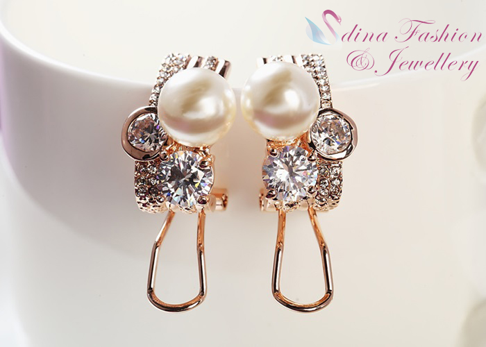 Image Result For Simulated Pearl Diamond Luxury French Clip